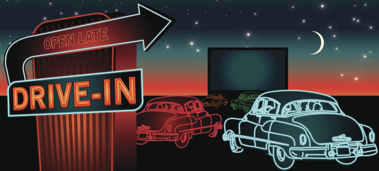 create your own drivein theater bask